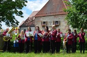 Orchester vor Amberger Tor